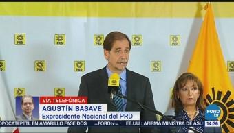 Agustín Basave Es difícil que sobreviva el PRD