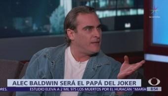 Alec Baldwin interpretará al papá de Batman