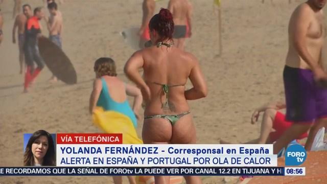 Alerta en España y Portugal por ola de calor