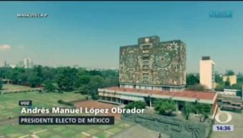Amlo Envía Mensaje Estudiantes Ciencias Políticas Unam Presidente Electo De México