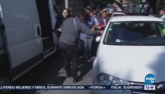 AMLO se dirige a Palacio Nacional; se reunirá con Peña Nieto