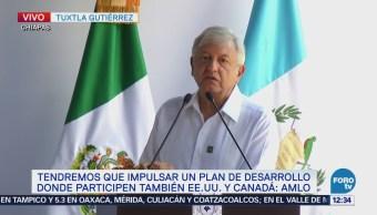 AMLO y Jimmy Morales planean programa para enfrentar fenómeno migratorio