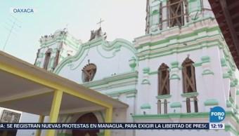 Daños En Edificios Históricos Sismo Oaxaca Edificios Históricos Continúan Dañados