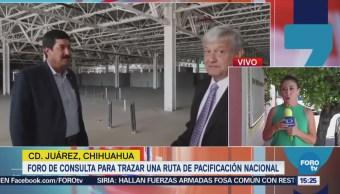 Andrés Manuel López Obrador Regresa Cdmx Tras Foro Consulta