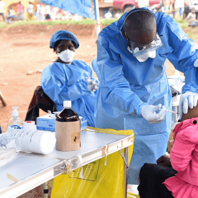 ONU distribuye alimentos a las víctimas del ébola en el Congo