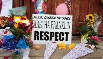Aretha Franklin: Rinden homenaje en iglesia de Detroit