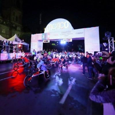 Más de 40 mil corredores toman las calles en el Maratón de la CDMX