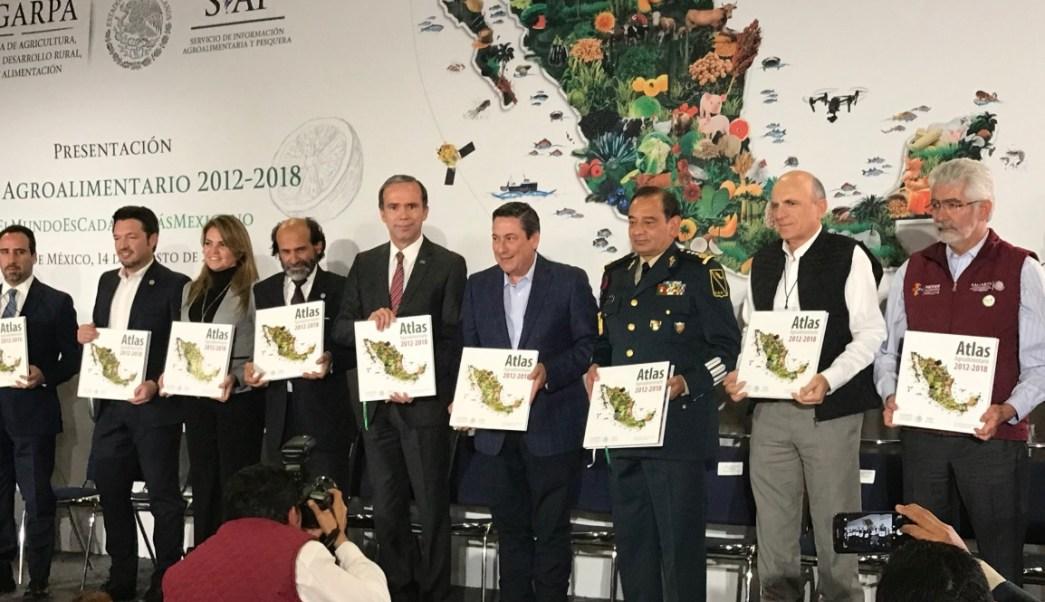 Sagarpa presentan nuevo Atlas Agroalimentario 2018