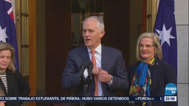 Australia Elige Nuevo Primer Ministro Scott Morrison