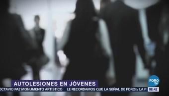 Autolesiones afecta a millones de jóvenes en MéxicoAutolesiones afecta a millones de jóvenes en México