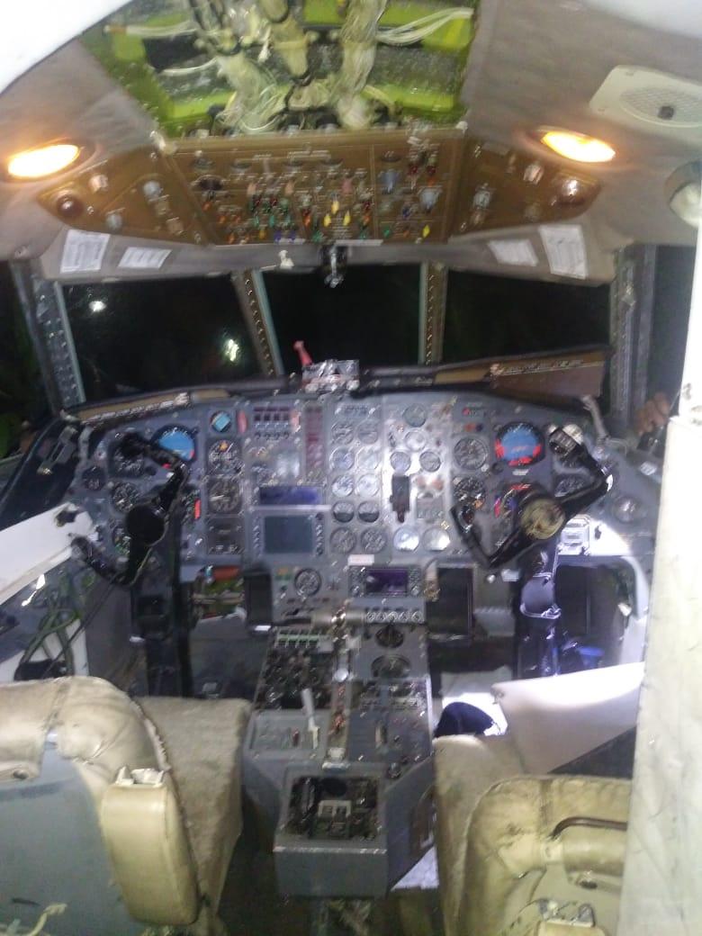 Avioneta realiza aterrizaje de emergencia en San Luis Potosí