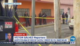 Balacera deja un muerto en la colonia Ramos Millán