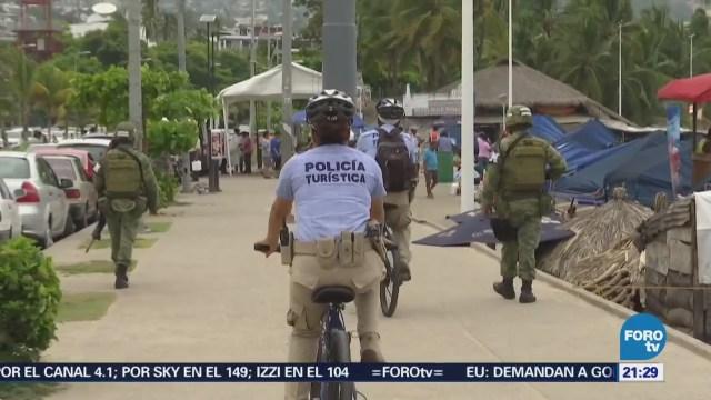 Blindan Acapulco Durante Periodo Vacacional Turismo Seguridad