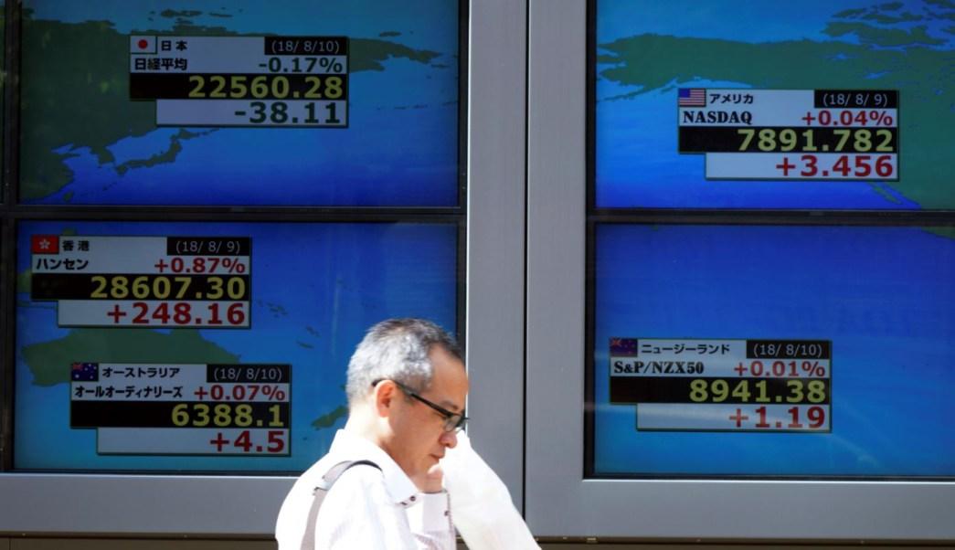 Bolsa de Tokio cae, observará conversaciones de China y EU