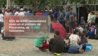 Brasil rechaza a los migrantes venezolanos