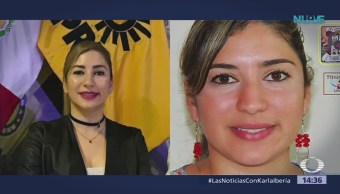 Buscan a diputada federal electa Azucena Rodríguez Zamora