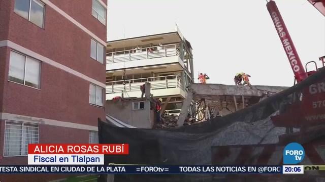 Buscan acelerar proceso de demolición en el Colegio Rébsamen