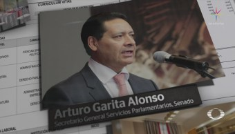 Cámara alta paga viaje familiar Europa Arturo Garita Alonso