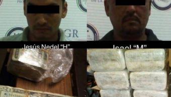 PGR asegura 1.5 millones de dólares y cocaína en Campeche