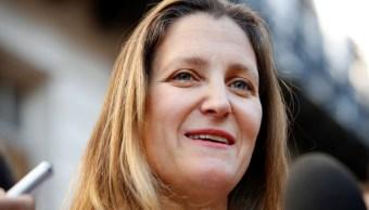 Canadá destaca 'buena voluntad' de EU en acuerdo TLCAN