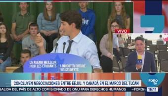 Canadá Seguirá Negociando Estados Unidos TLCAN