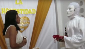 Candidata Matrimonio Honestidad Perú Simbólico Video