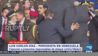 Capturan Presuntos Responsables Ataque Maduro