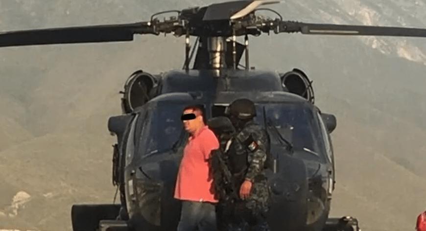"""Detienen a """"El Pelochas"""", líder criminal en Tamaulipas"""