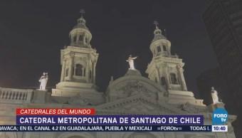 Catedral metropolitana de Santiago de Chile, ejemplo de arquitectura neoclásica