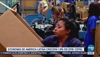 CEPAL baja pronóstico de crecimiento para América Latina