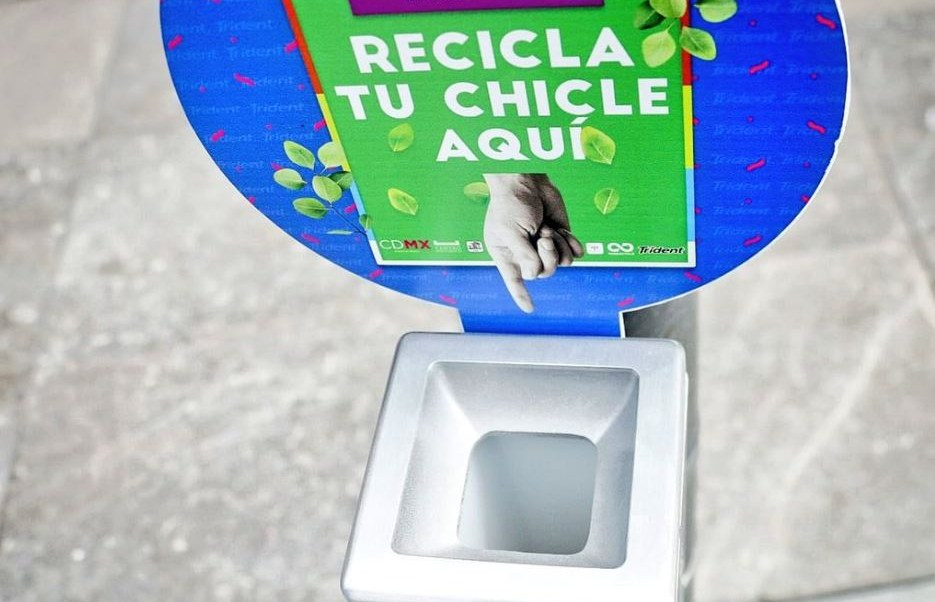 Image result for recicla chicle cdmx