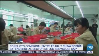 China podría gravar servicios de EU por guerra comercial