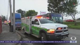 Choca tráiler en autopista México-Querétaro