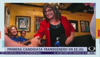 Christine Hallquist, primera candidata transgénero gobenador