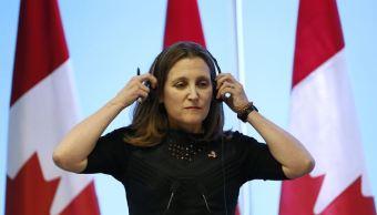 Canadá desea concluir negociación del TLCAN lo antes posible