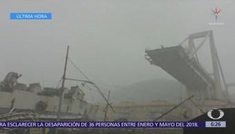 Colapsa puente en autopista de Génova, Italia