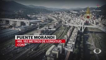 Colapso de puente en Italia deja 26 muertos