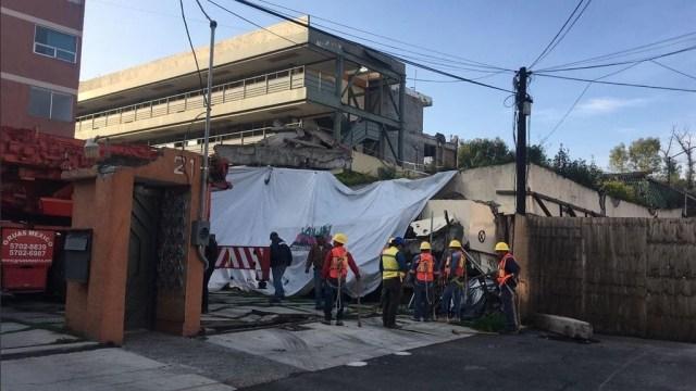Colegio Rébsamen conservará evidencias a pesar de demolición parcial