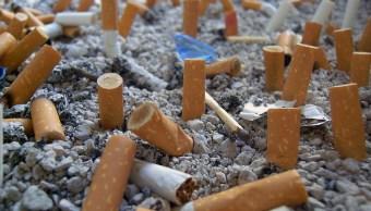 Mayor contaminante océanos colillas cigarros