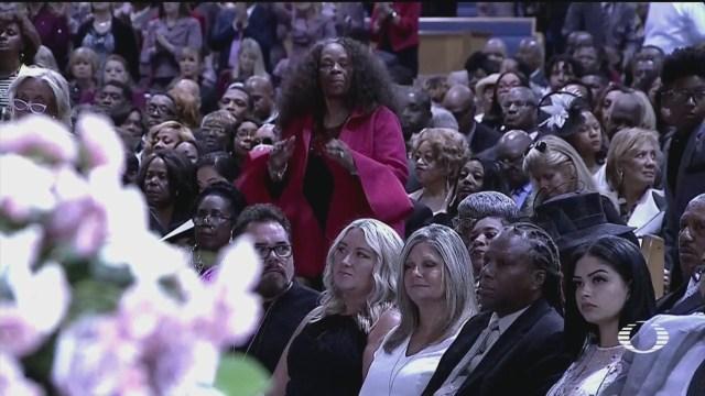 Concluyen Funerales Aretha Franklin Viernes Concluyeron Los Funerales Cantante Reina Del Soul