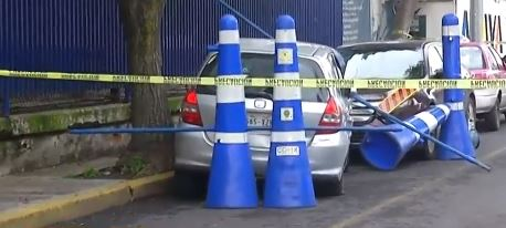 Muere conductor en Iztapalapa; Fiscalía investiga a policias