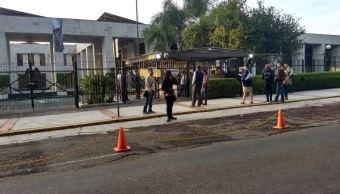 Diputados de Morena bloquean Congreso de Veracruz