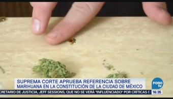 Corte aprueba referencia al uso médico de la marihuana
