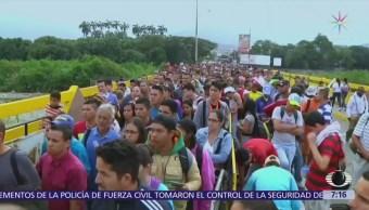 Cúcuta, Colombia, concentra a cientos refugiados venezolanos