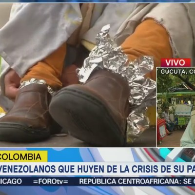 Cúcuta, desbordada por la presencia de venezolanos