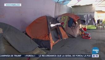 Damnificados en Xochimilco por sismo del 19-s siguen olvidados