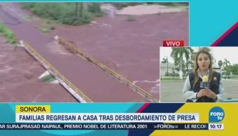 Damnificados Desbordamiento Presa Sonora Esperan Ayuda