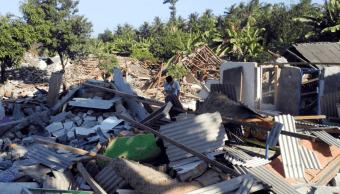 Nuevo sismo en Indonesia deja 14 muertos