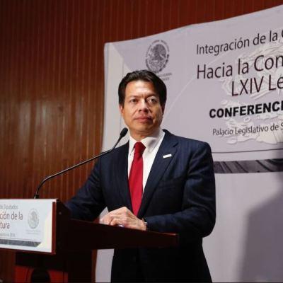 Diputados de Morena privilegiarán el diálogo, asegura Mario Delgado