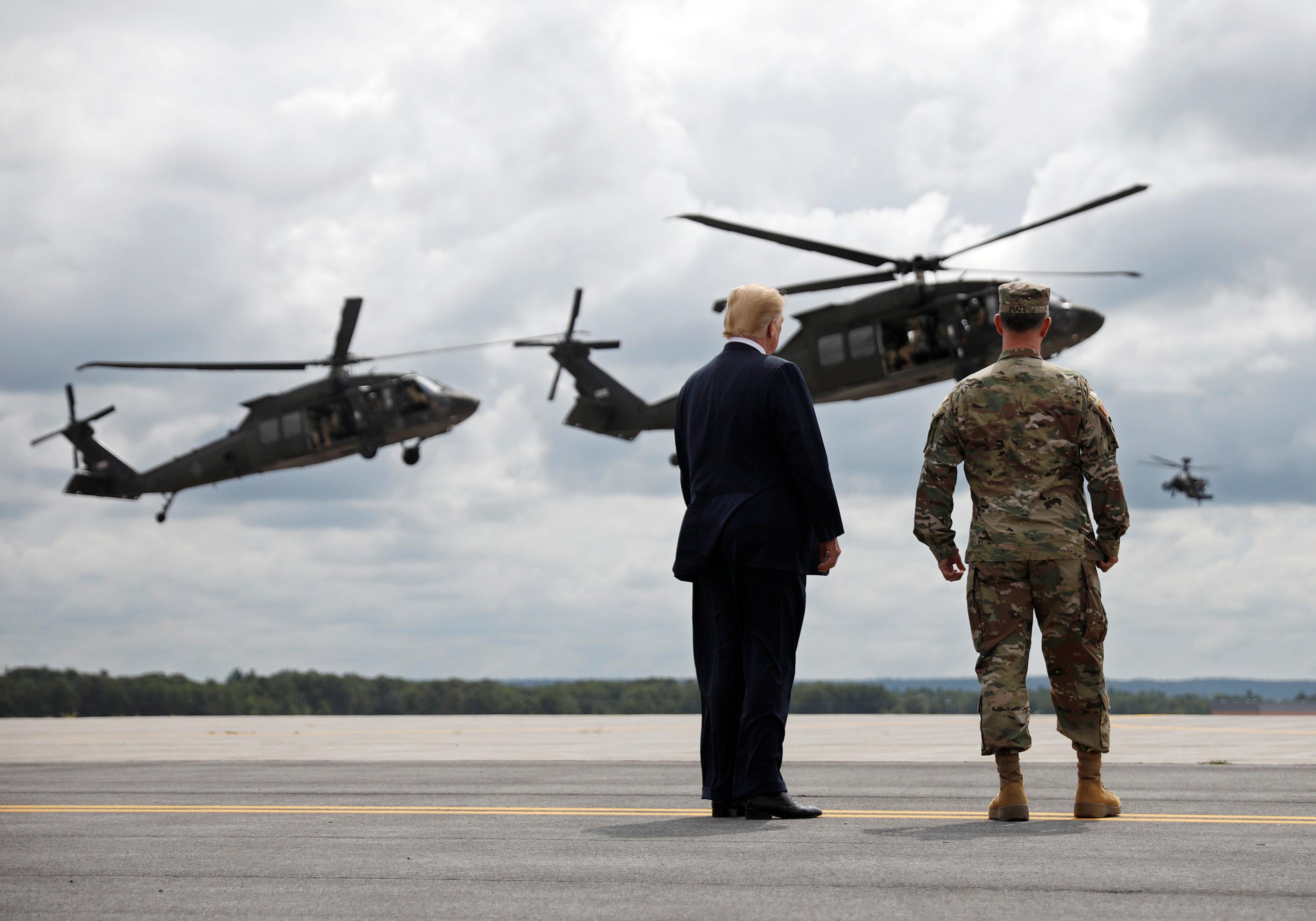 Trump cancela su desfile militar por los elevados costes